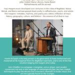 Iraqi Maqam Music with Hamid Al Saadi and Amir ElSaffar April 18th, 20196:00 p.m.