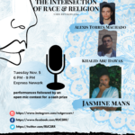 Spoken Word at the Intersection of Race & ReligionNovember 5th, 20196:00 pm. to 9:00 p.m.