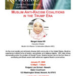 Margari Aziza Hill, Muslim Anti-Racism CoalitionJanuary 27, 202012:00 pm. to 1:00 p.m.