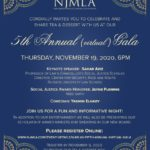 NJMLA's Fifth Annual (Virtual) GalaNovember 19, 20206:00pm EST