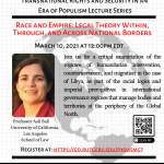Race and Empire: Legal Theory Within, Through, and Across National BordersMarch 10, 202112:00pm EST